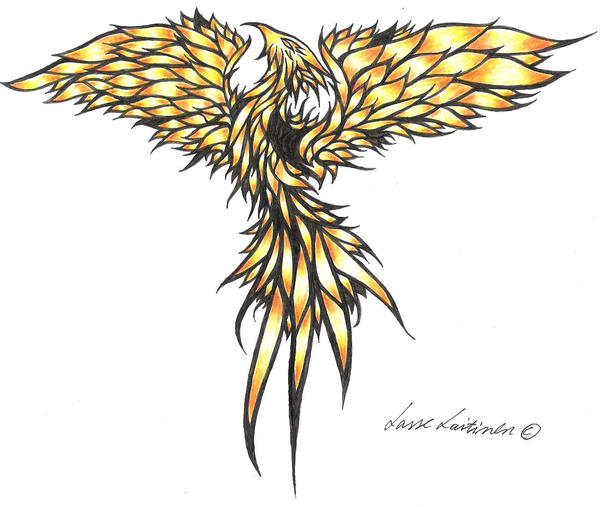 Phoenix Tribal by Painbreaker on deviantART