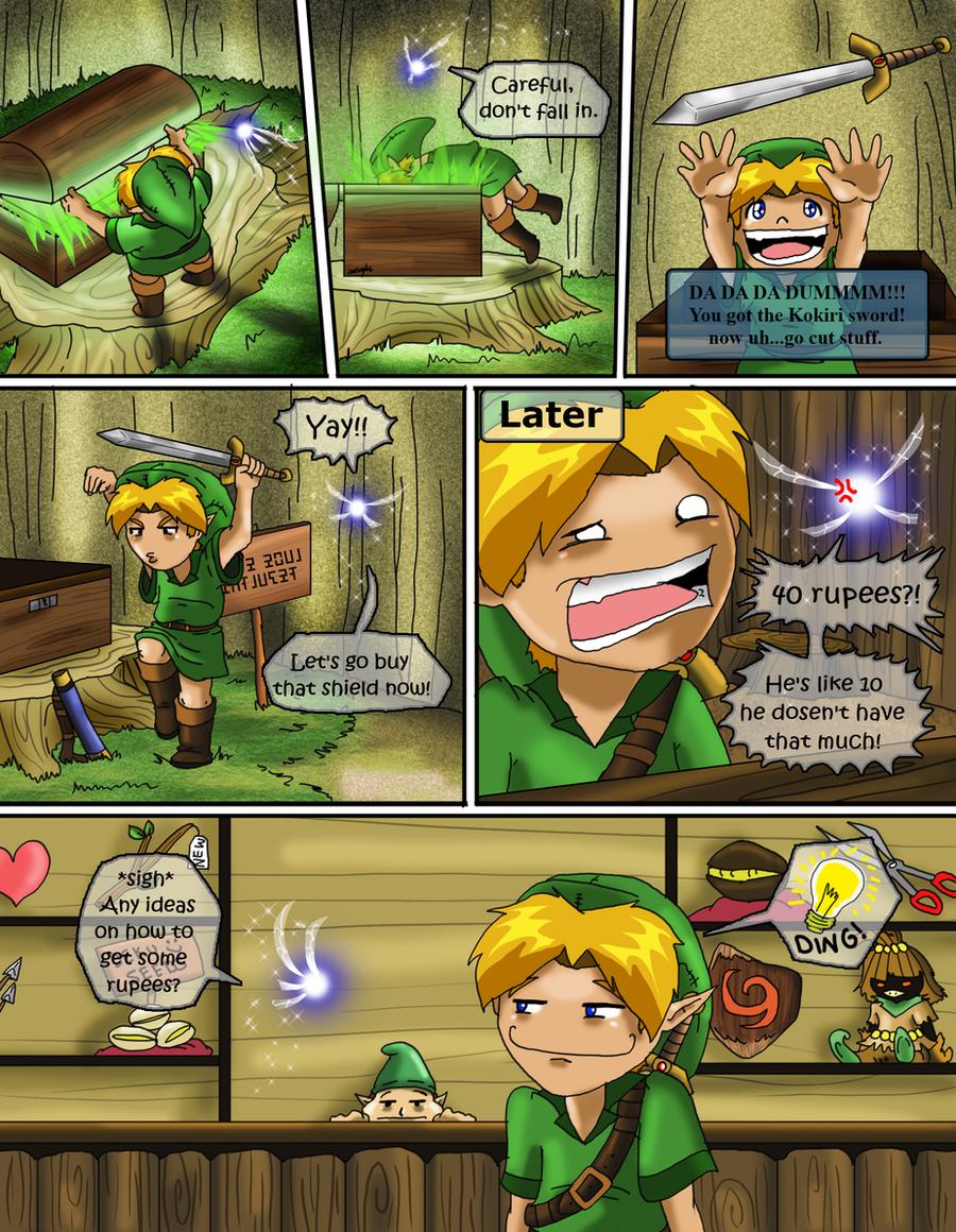 Kid Link Ocarina Of Time