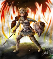 Armor Clad Lizzie by girldirtbiker
