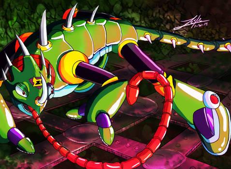 Sting Chameleon ::Mega Man X