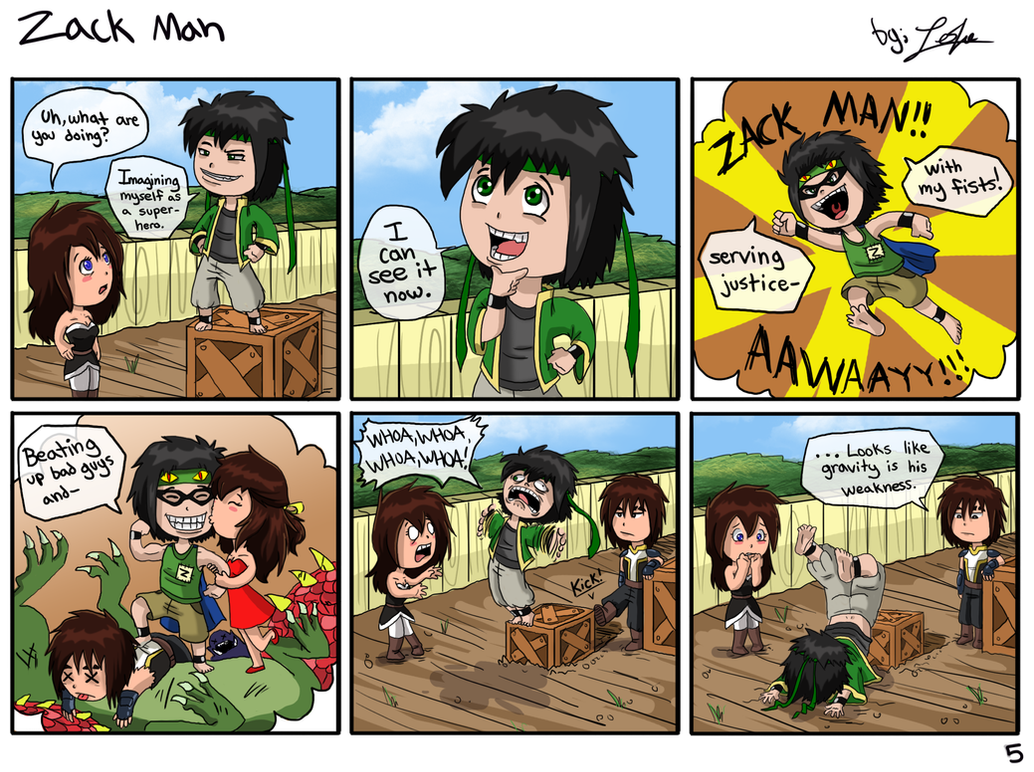 Zack Man by girldirtbiker