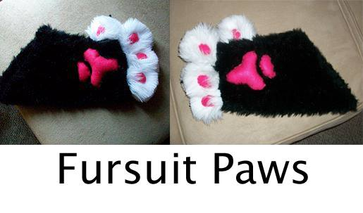 Fursuit Paws by TheJadedRaven