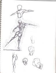 Anatomy-Proportions SketchDump