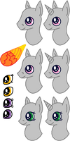 Pony Headshot Template