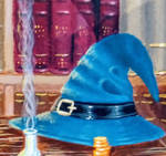 wizards Hat (Part of The Wizard's Library)