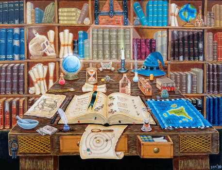 The Wizard's Library
