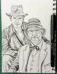 Indiana Jones and the last crusade (pen)