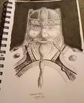 Inktober day 6 - Dwarf