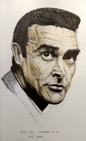 Sean Connery - Inktober day 31