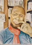 Clive Myrie - Sky Portrait Artist of the week