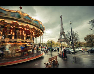 Moment in Paris by shaysapir