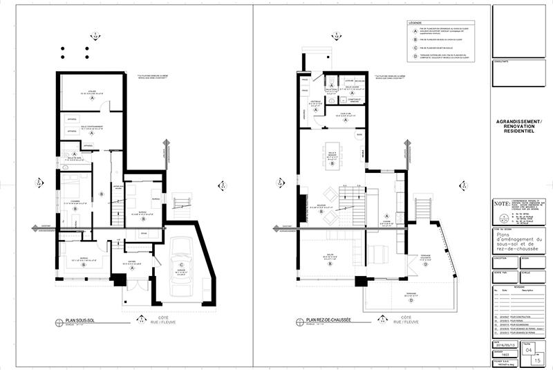 Plans pour ajout d 39 etage page 4 by constructionscyr on for Ajout tage maison