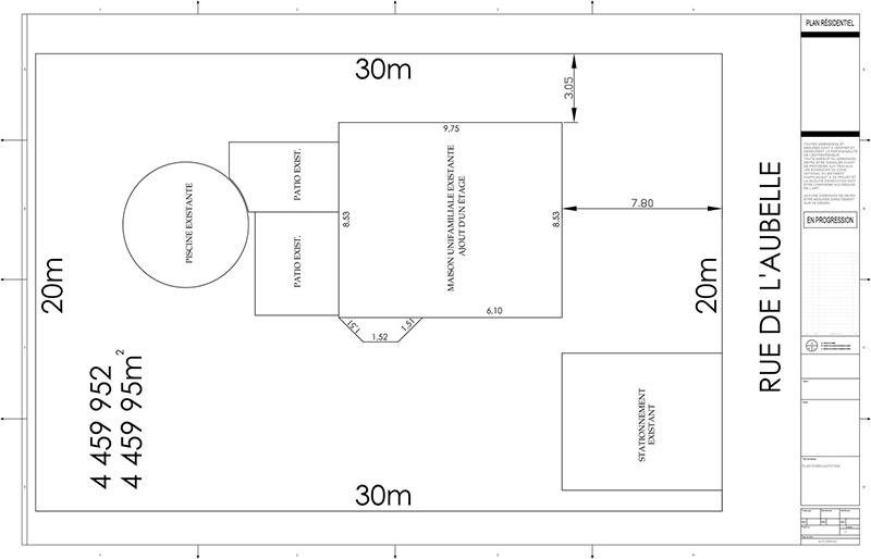 plans d 39 agrandissement de maison page 1 by constructionscyr on deviantart. Black Bedroom Furniture Sets. Home Design Ideas