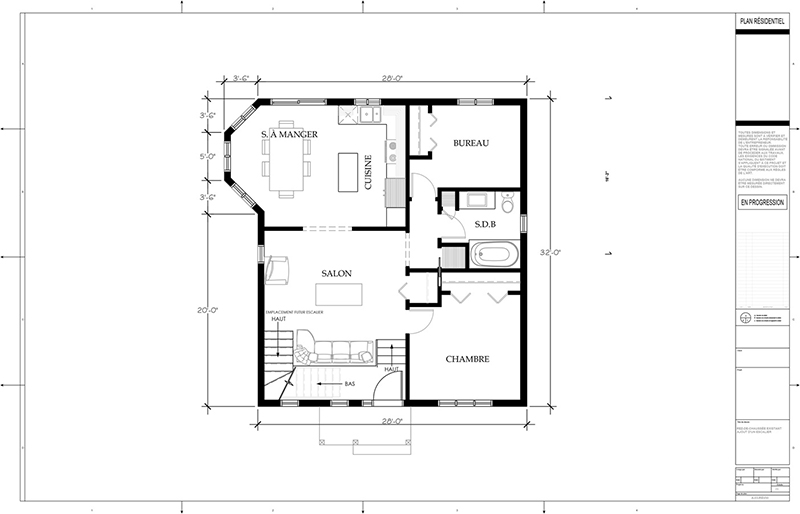 Plans d 39 agrandissement de maison page 3 by for Agrandissement maison plan