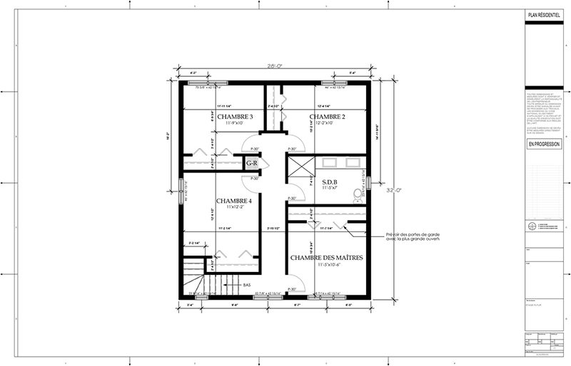 Plans d 39 agrandissement de maison page 4 by Aggrandissement maison