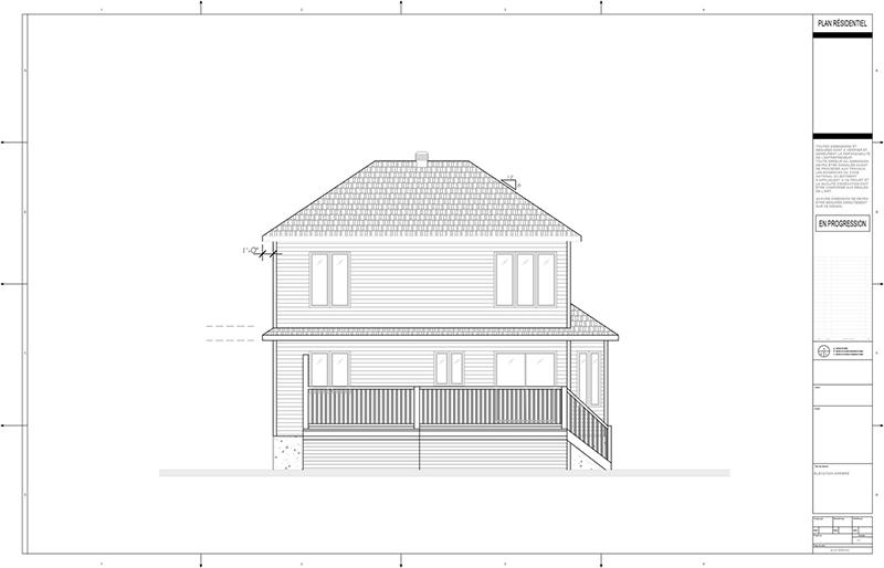 Plans D 39 Agrandissement De Maison Page 9 By Constructionscyr On Deviantart