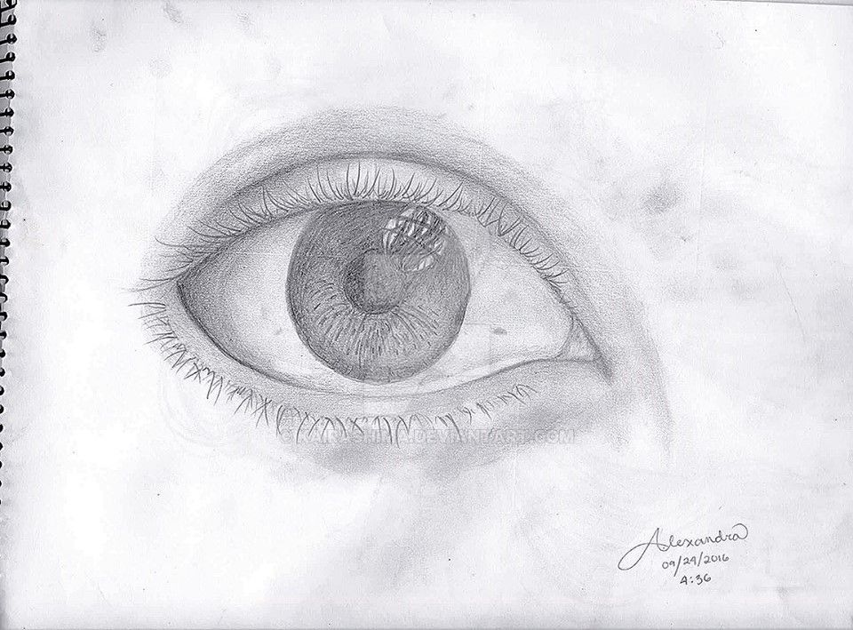 An eye. O_O by Kairashima