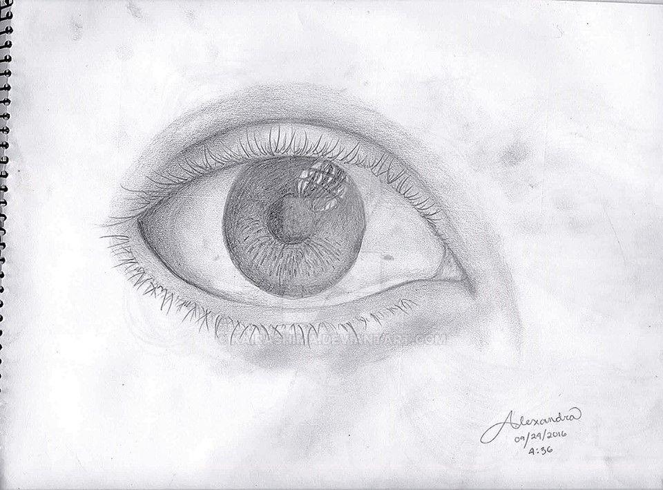 An eye. O_O by Kairashima