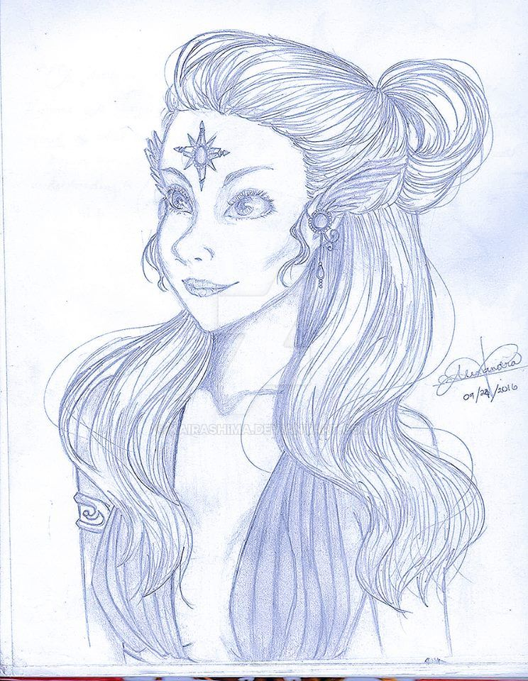 random woman by Kairashima