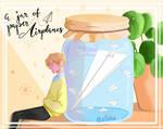 A jar or Paper Airplanes
