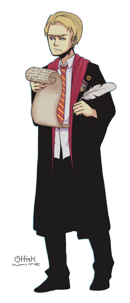 Rogers... Gryffindor! by meixx