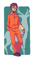 Prison jumpsuit Will by meixx