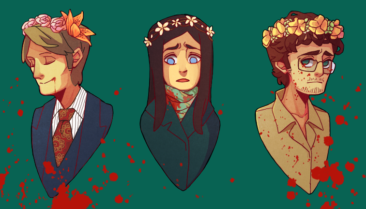 Flower Crown Court by meixx on DeviantArt