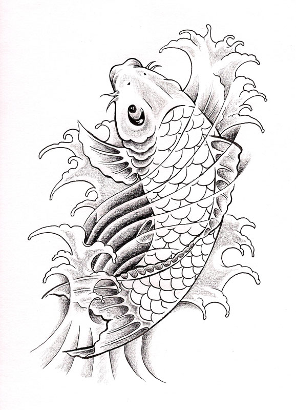 Koi fish 2 by whiterose54 on DeviantArt