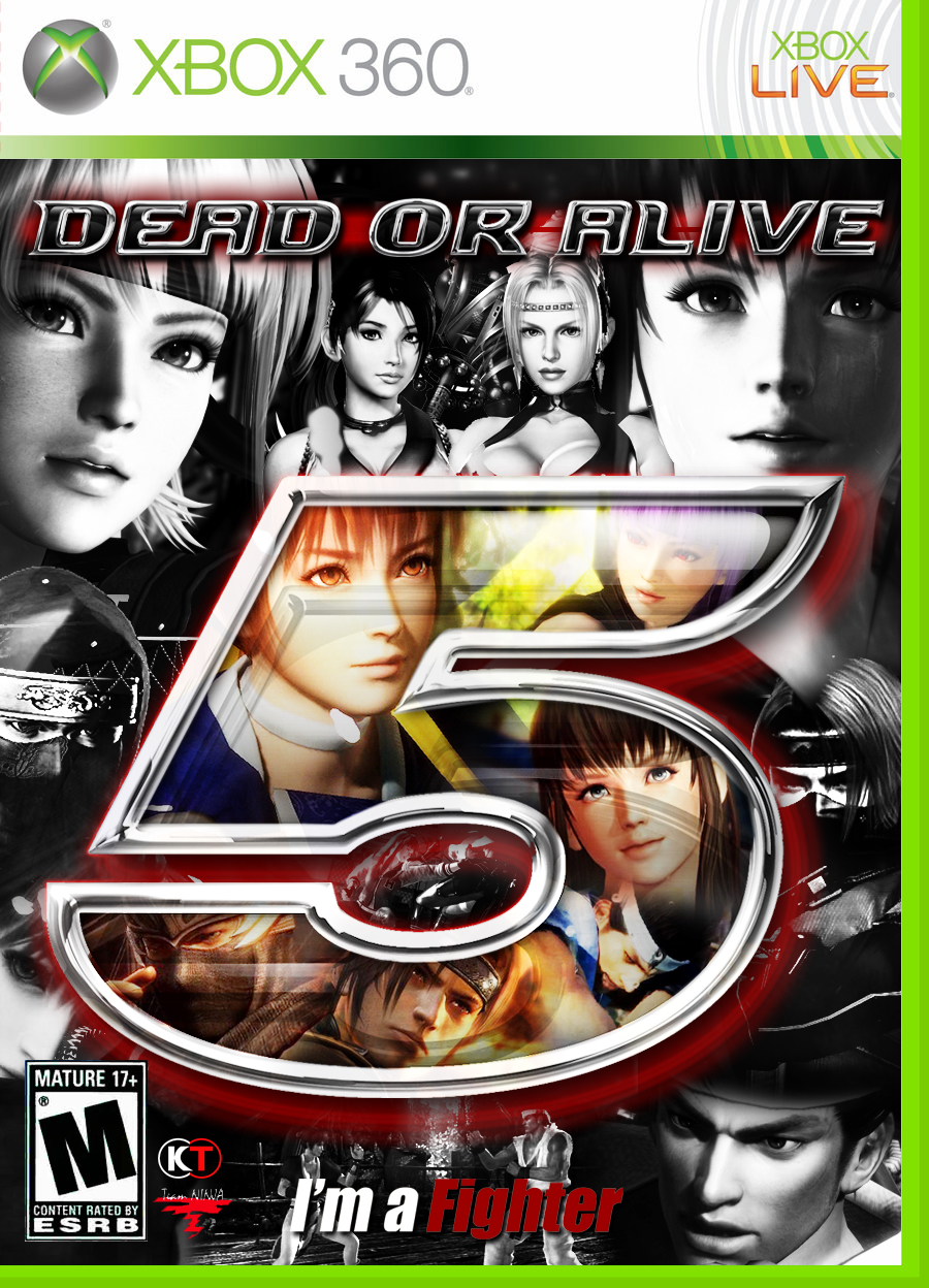 DEAD OR ALIVE 5 ~ Xbox 360 Cover/BOX by Leifang12 on DeviantArt
