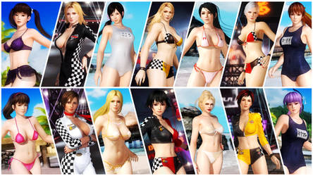 the ULTIMATE bikinis - DEAD OR ALIVE 5 ULTIMATE