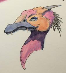 #487 - Inktober: Prickly by RodentNomNom
