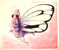 #525 - 012 Butterfree by RodentNomNom