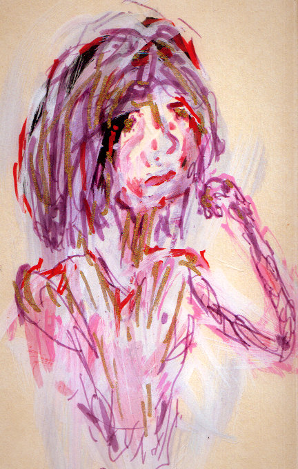 Glum Girl by CheBertrand