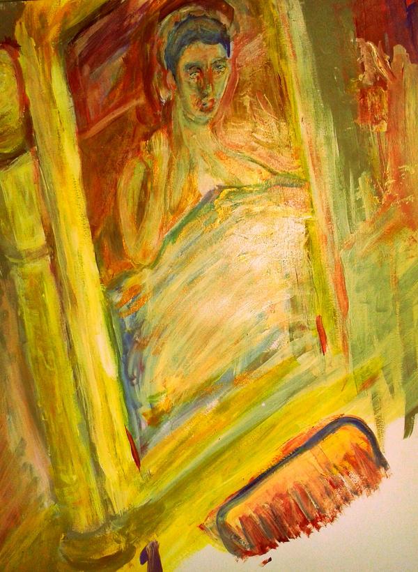 Waking Reflection by CheBertrand