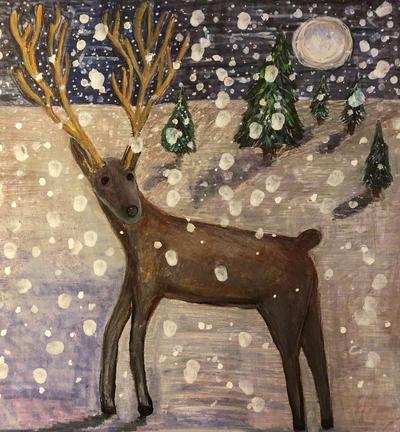 Reindeer by CheBertrand