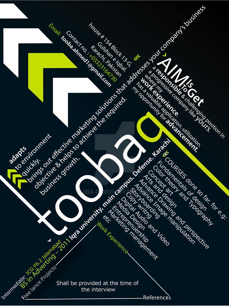 My CV by 2BA-d