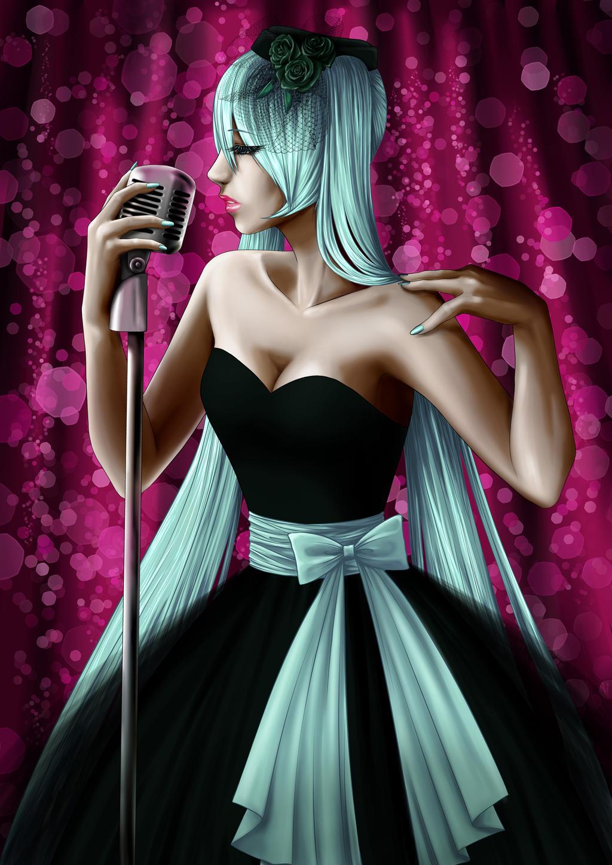 Hatsune Miku - Sad Song by AsheriaWorkshop