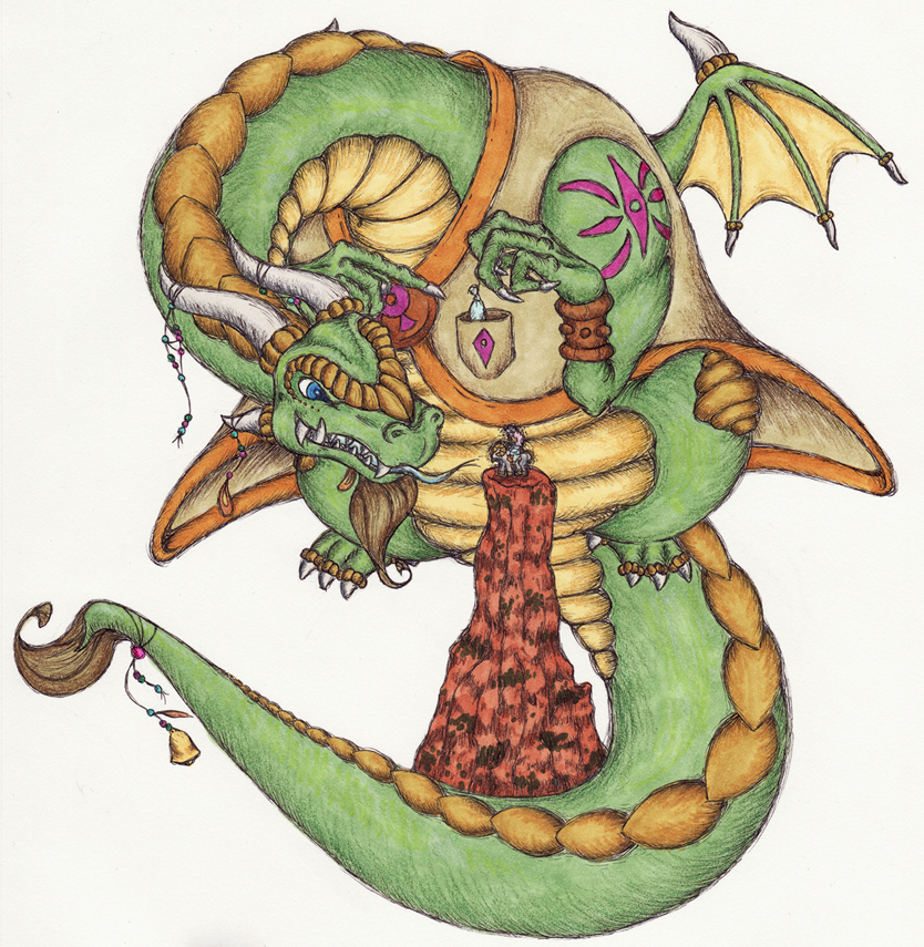 Dragon Sketch by terrastardroid