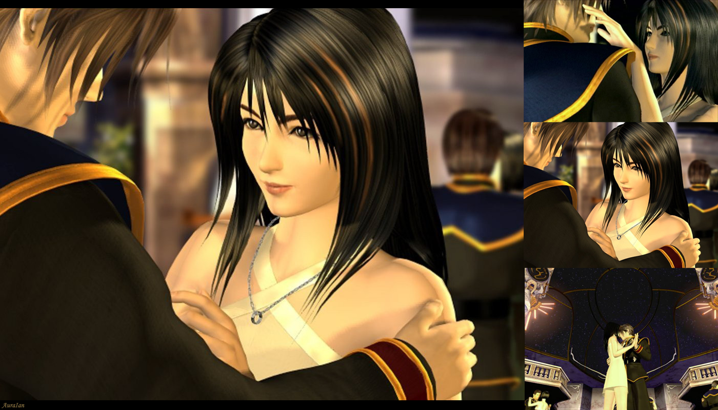 Squall And Rinoa Dance Squall And Rinoa 2 by Auraian