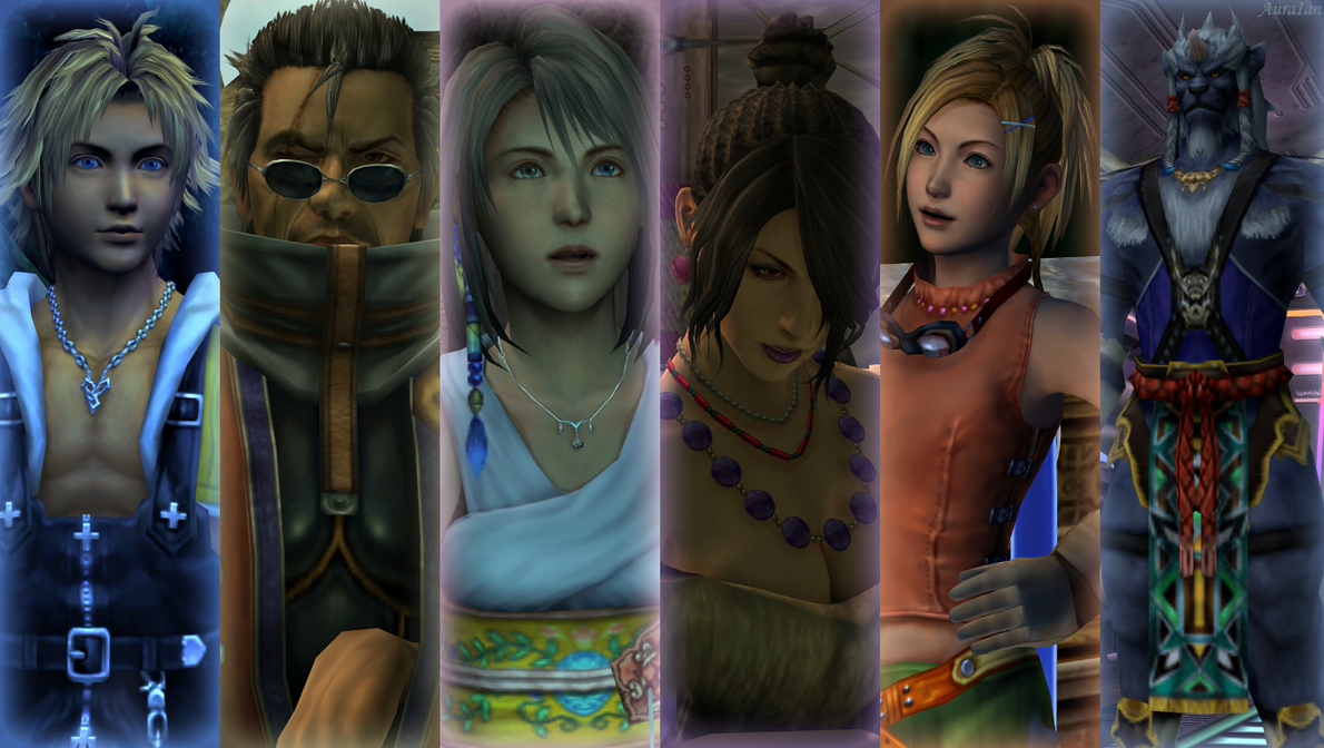 Final Fantasy X by AuraIan