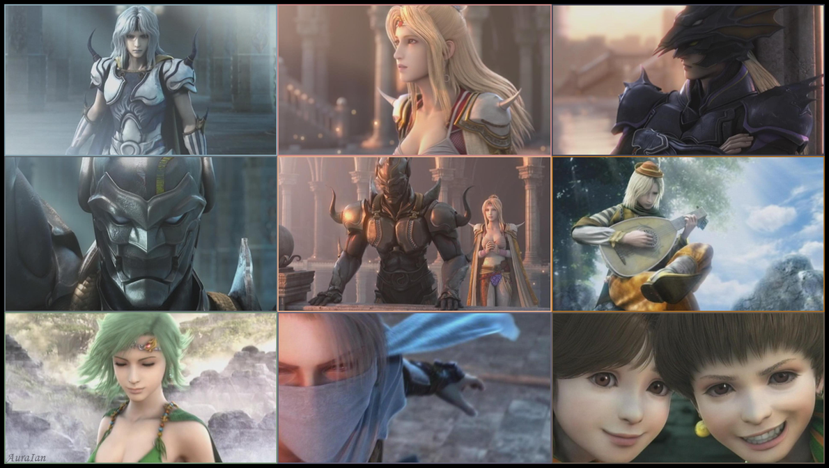 Final Fantasy IV - Version 2 - by AuraIan