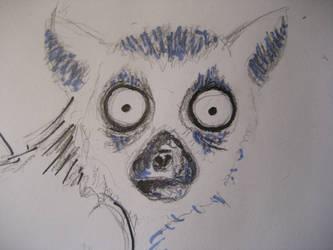 Lemur-Tattoo-Details by Renvoyure