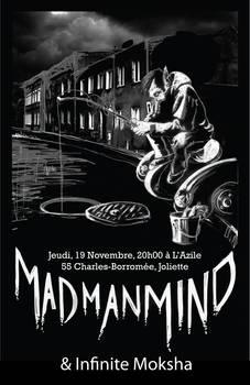 Mad Man Mind - Poster 2