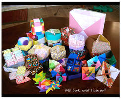 Origami Collection by wastedlimes