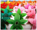 Origami Flowers for Karina