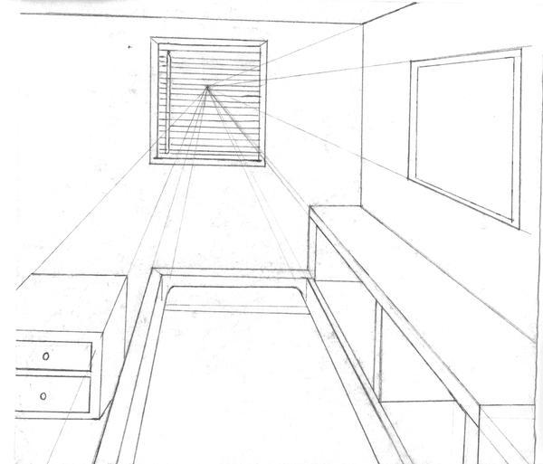 Bedroom Perspective: Bedroom Perspective By Gamerlana On DeviantArt