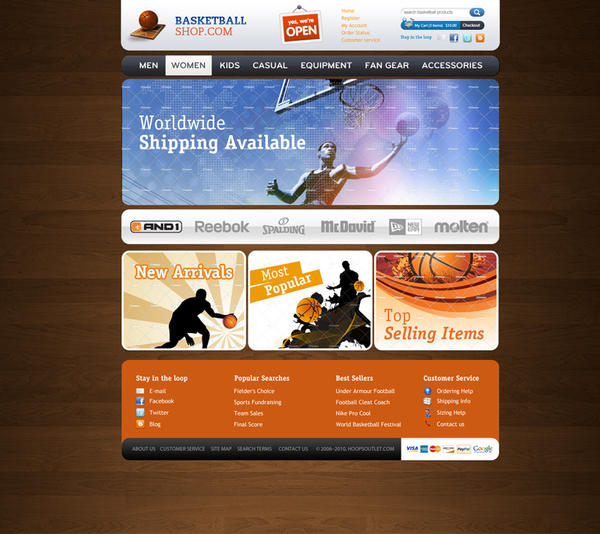 Basketball Shop - For sale by Evako