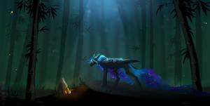 Sorrowful Place (Nightmare Moon) .:SPEEDPAINT:.