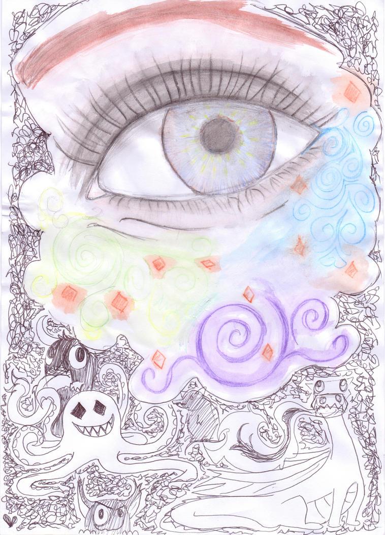 Blue Eye by jellitot
