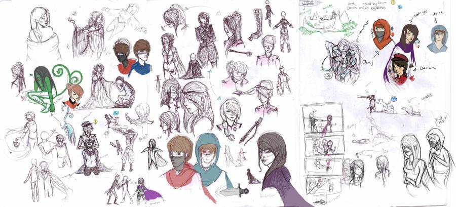 sketch dump2 by jellitot